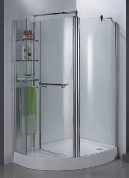 Bathroom clearance outlet ltd bathrooms showers for Shower cubicle shelves